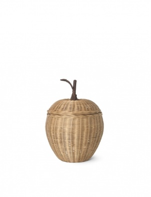 Rattanowy kosz jabłko Apple Braided Storage SMALL FERM LIVING