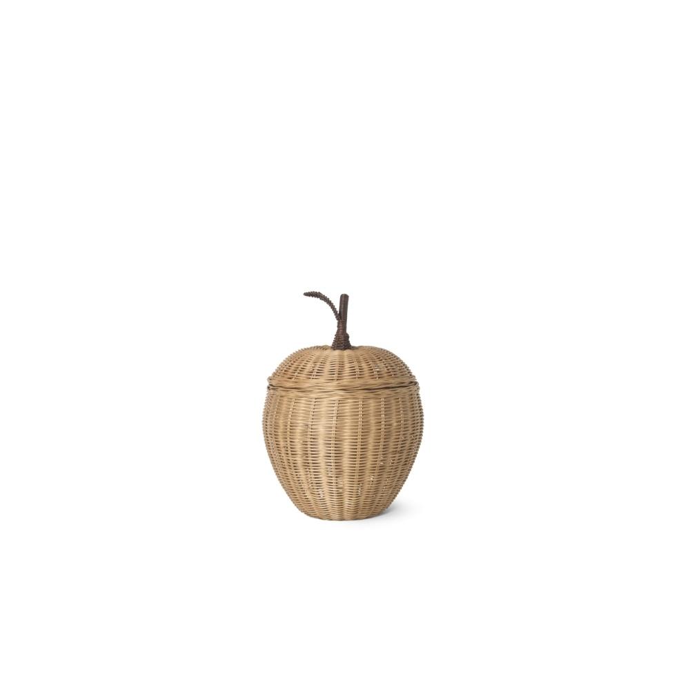 Rattanowy kosz jabłko Apple Braided Storage SMALL FERM LIVING