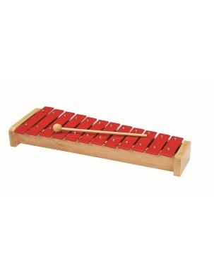 Ksylofon 12 tonów czerwony Goki