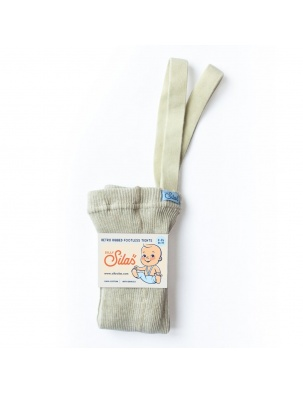 Legginsy z szelkami Footless Cream Blend SILLY SILAS