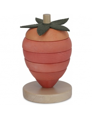 Piramida truskawka stacking strawberry KONGES SLOEJD
