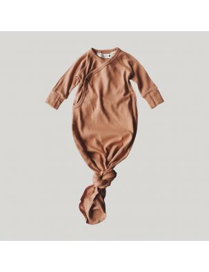 Body kokon z bawełny organicznej TERRACOTTA SUSUKOSHI