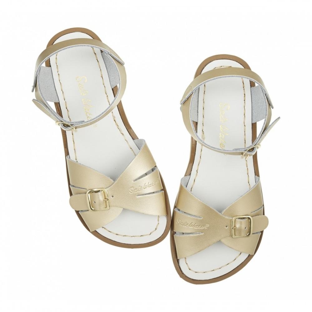 Sandały Classic Adult Złote Salt Water