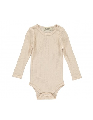 Body Pointelle Peach Cream MarMar