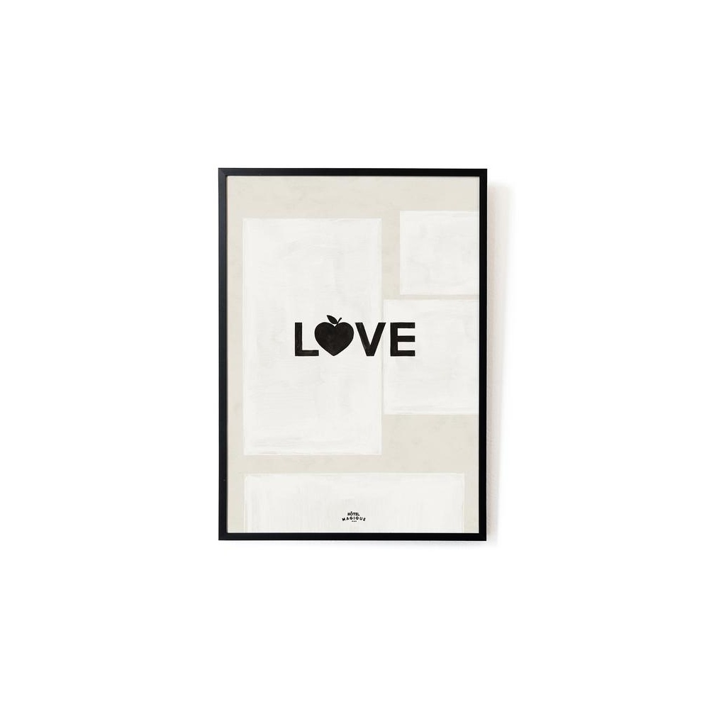 Plakat LOVE A3 HOTEL MAGIQUE