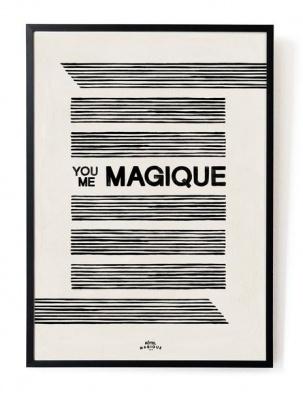 Plakat You Me Magique A3 HOTEL MAGIQUE