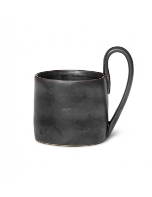 KUBEK FLOW MUG BLACK FERM LIVING