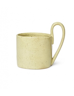 KUBEK FLOW MUG YELLOW FERM LIVING
