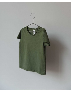 T-SHIRT TEE NOR GREEN CO LABEL