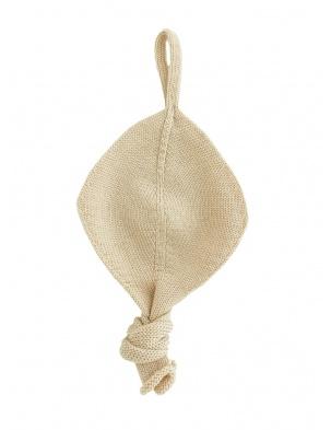 Zawieszka Titi pacifier holder oat Hvid
