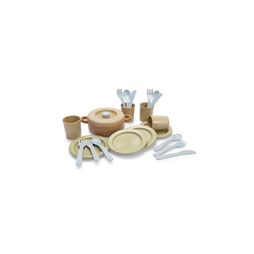 Zestaw obiadowy z BIO plastiku