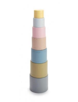 Wieża z kubków TINY z BIO plastiku DANTOY