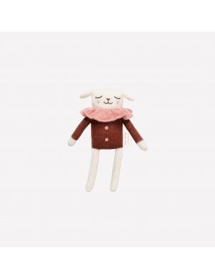 Przytulanka lamb knit toy sienna blouses Main Sauvage