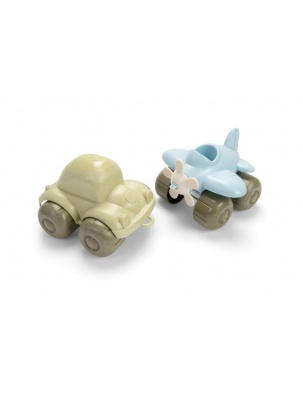 Samolot i garbus z BIOplastiku DANTOY