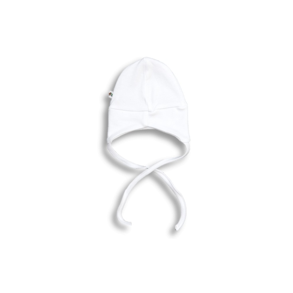 Czapka pilotka BASIC biała Nanaf Organic