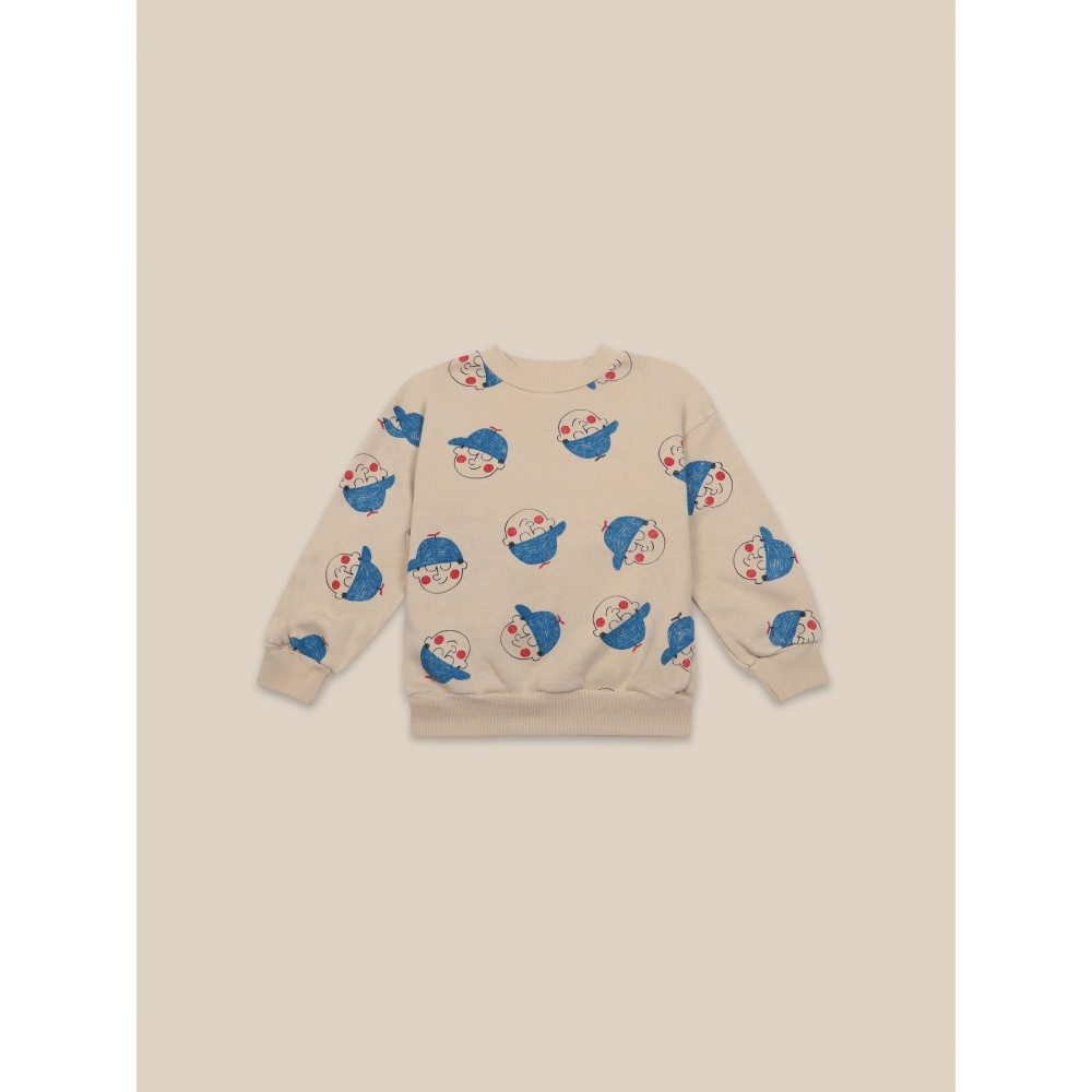 BAWEŁNIANA BLUZA Boy All Over Sweatshirt BOBO CHOSES