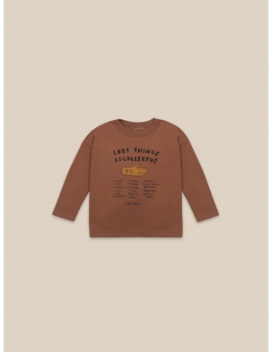 BAWEŁNIANY LONG SLEEVE Lost Thing Recollector BOBO CHOSES