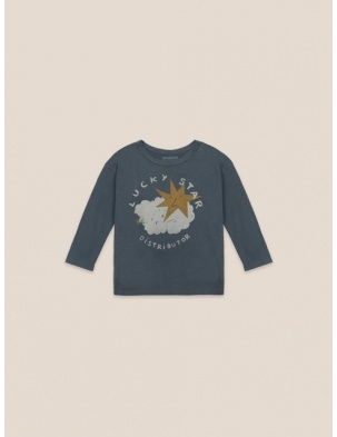 BAWEŁNIANY LONG SLEEVE Lucky Star BOBO CHOSES