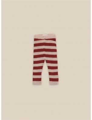 DZIANINOWE LEGGINSY Striped Knitted Leggings BOBO CHOSES