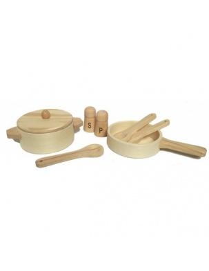 Drewniany zestaw do gotowania Egmont Toys