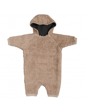 Kombinezon TEDDY double layer onesie ORGANIC ZOO