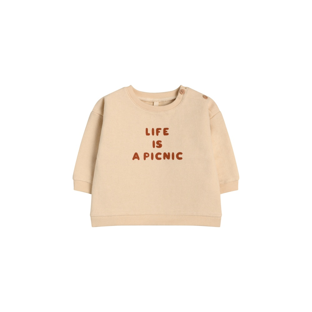 Bluza LIFE IS A PICNIC ORGANIC ZOO