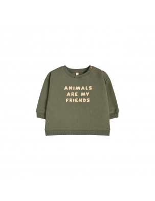 Bluza ANIMALS ARE MY FRIENDS ORGANIC ZOO