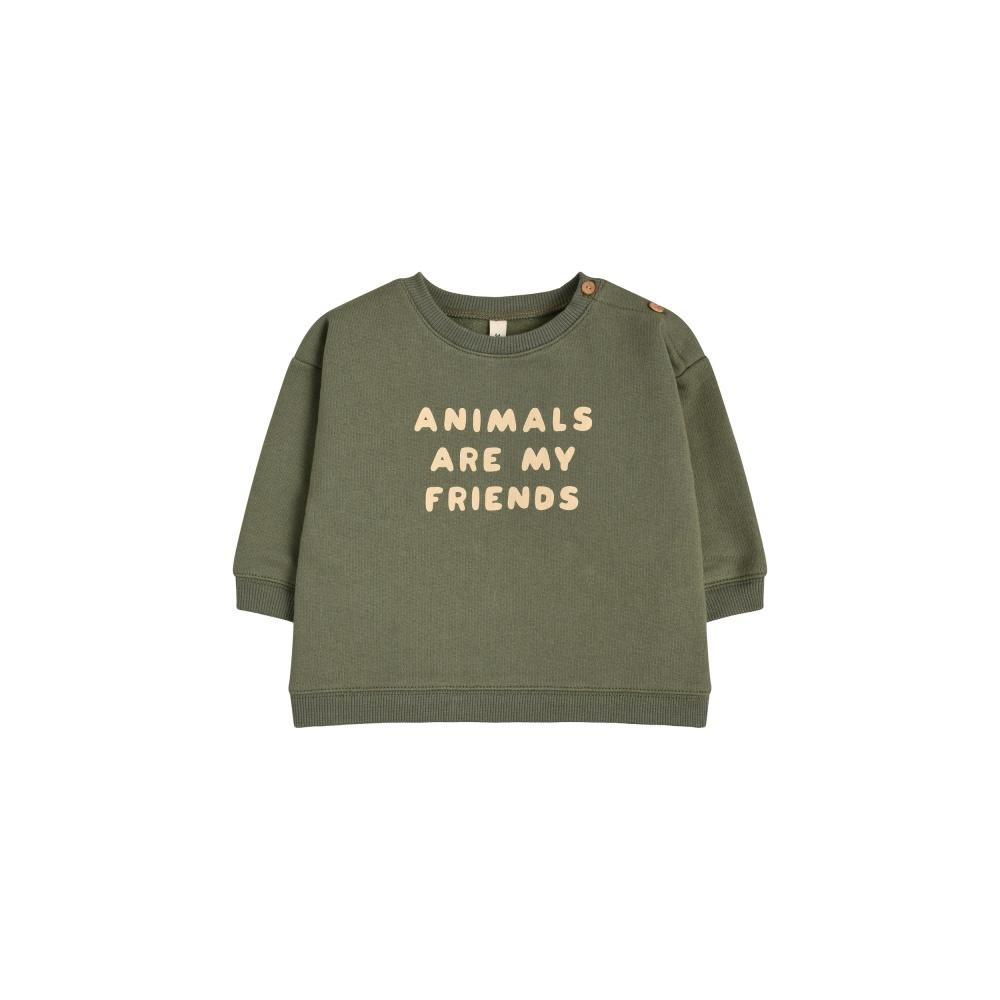 Bluza ANIMALS ARE MY FRIENDS ORGANIC ZOO