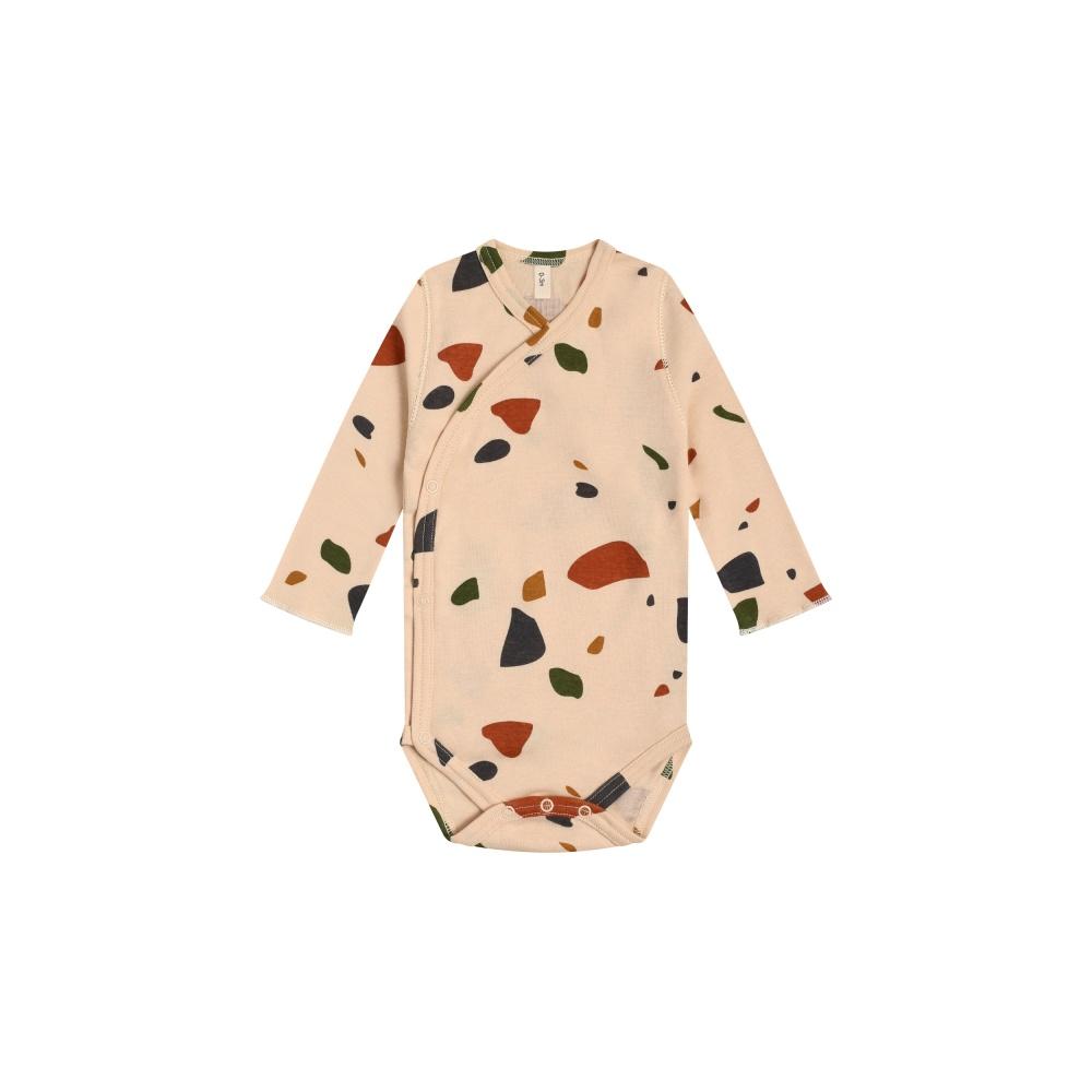 Body kimono NAVY MIDNIGHT Wrapover Bodysuit ORGANIC ZOO