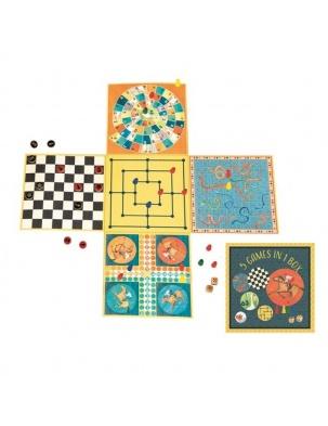 Planszowe gry rodzinne 5 w 1 Egmont Toys®