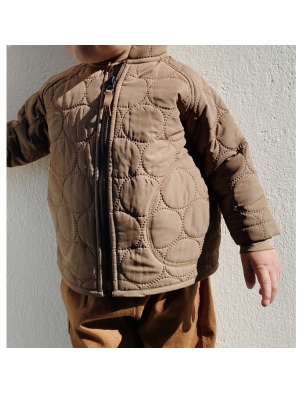 Kurtka THERMO JACKET CRINKLE WALNUT Konges Slojd