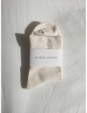 SKARPETKI PUMP SOCKS BONE LE BON SHOPPE