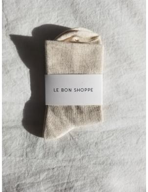 SKARPETKI SNEAKER SOCKS OATMEAL LE BON SHOPPE