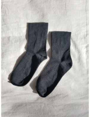 SKARPETKI SNEAKER SOCKS HEATHER BLACK LE BON SHOPPE