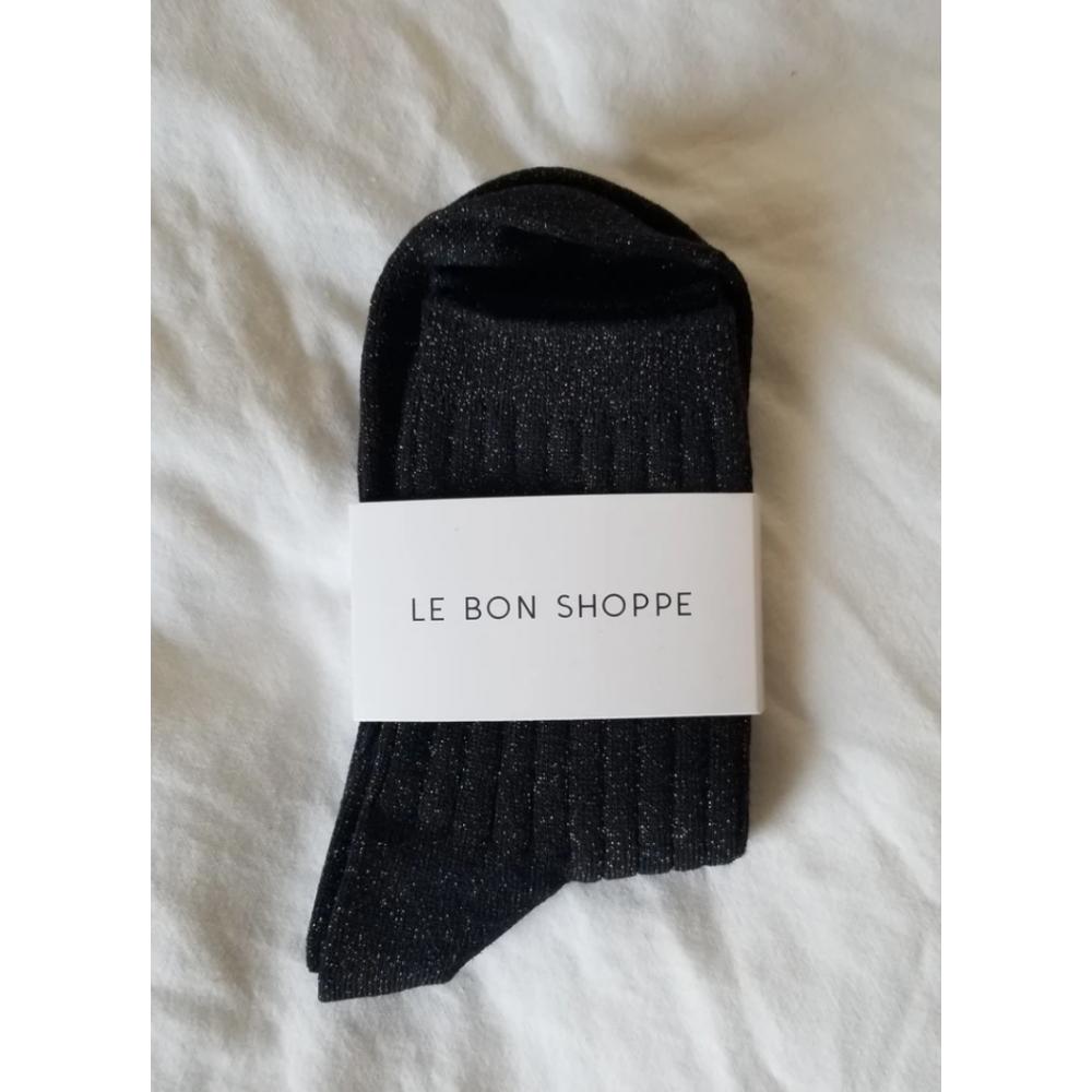 SKARPETKI HER SOCKS COPPER BLACK LE BON SHOPPE