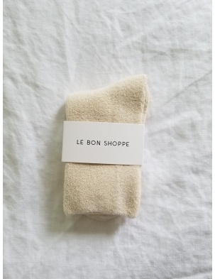 SKARPETKI CLOUD SOCKS ECRU LE BON SHOPPE