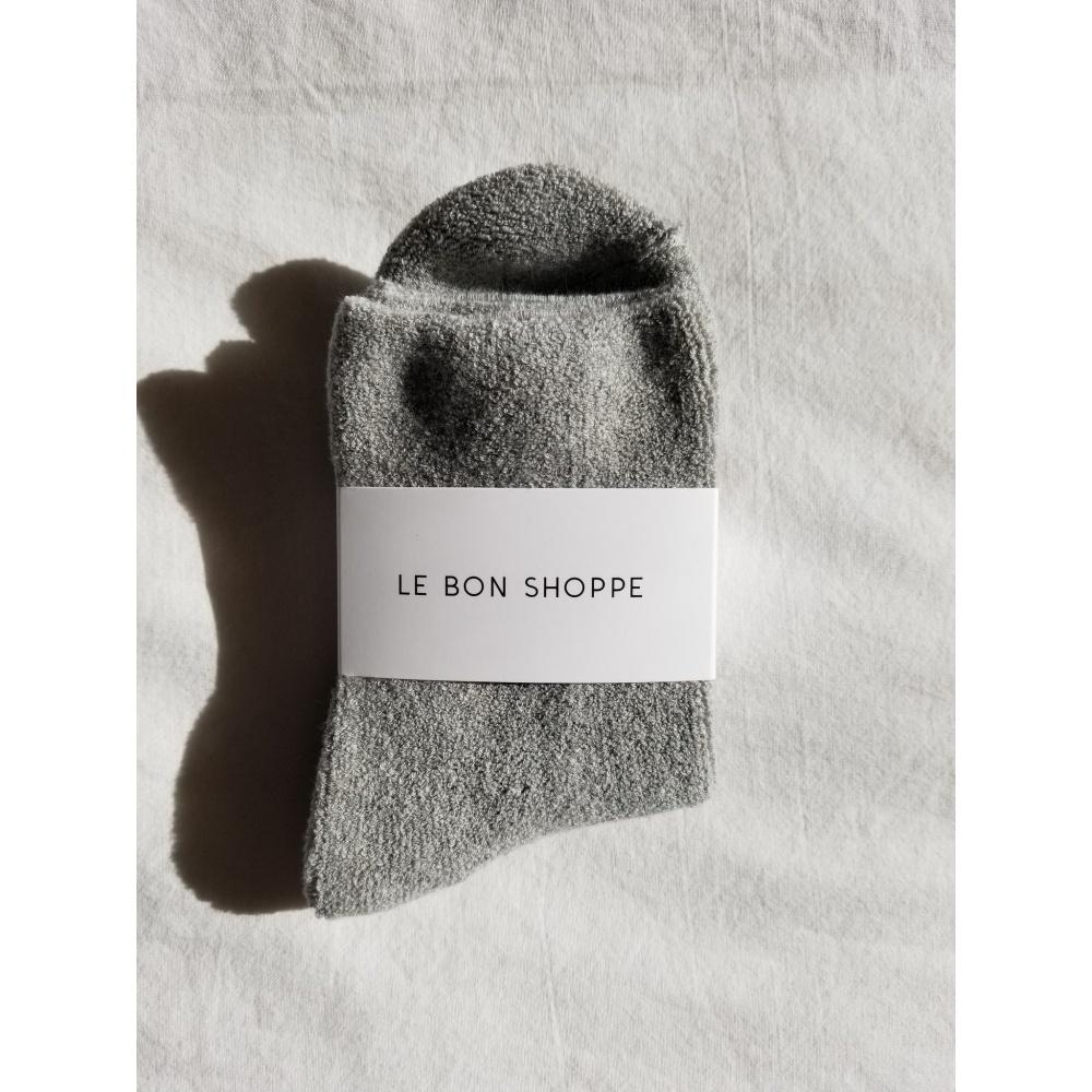 SKARPETKI CLOUD SOCKS GREY LE BON SHOPPE