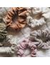 3-pak mini gumek Scrunchie Artichoke, Mauve, Mushroom Speckled SUSUKOSHI