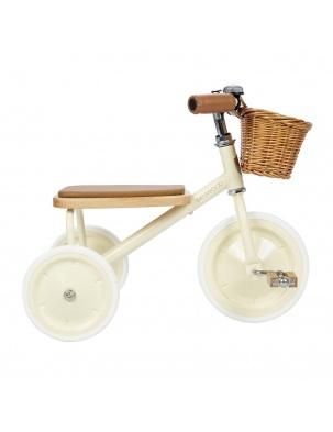 Banwood Rowerek trójkołowy Trike Cream BANWOOD