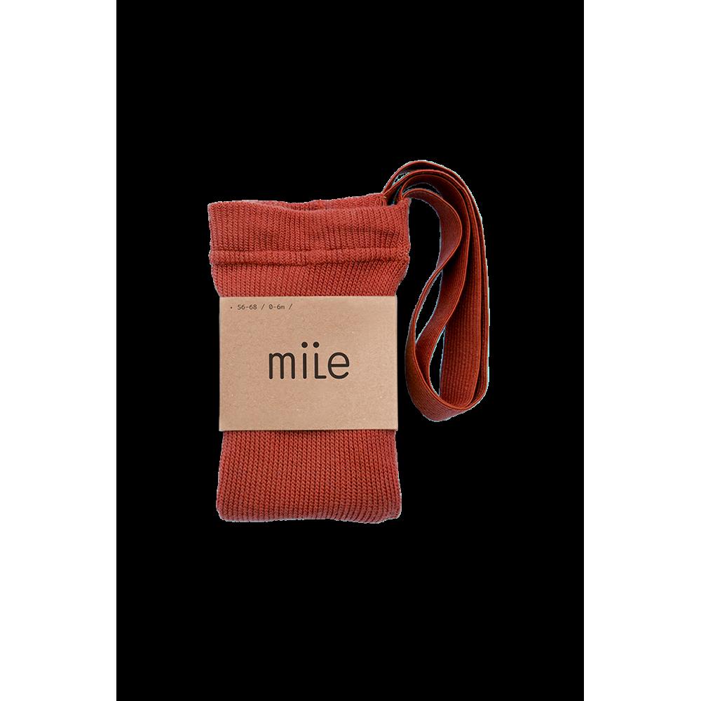 Rajstopy z szelkami LAVASTONE RED Mile