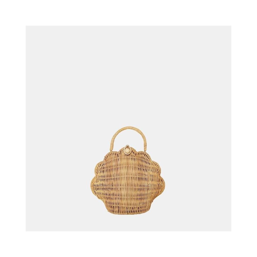 Rattanowa torebka w stylu vintage SHELL BAG Olli ella