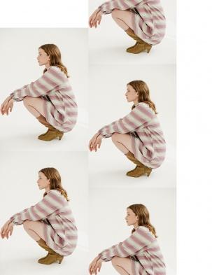 CECILE DRESS MOLES&FRECKLES