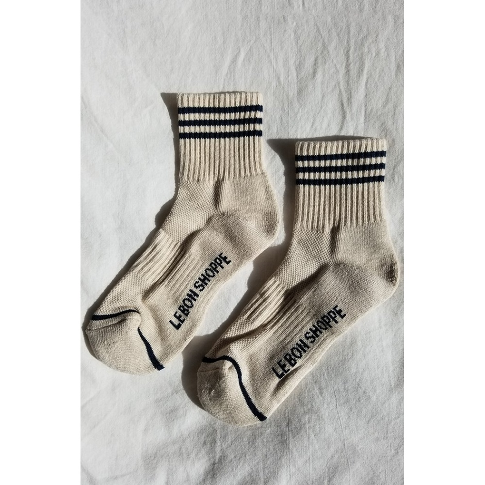 SKARPETKI GIRLFRIEND SOCKS OATMEAL LE BON SHOPPE