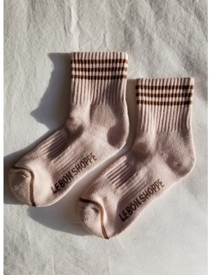 SKARPETKI GIRLFRIEND SOCKS VINTAGE PINK LE BON SHOPPE
