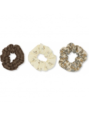 ZESTAW GUMEK 3 PACK SCRUNCHIE BIG MULTI KONGES SLOEJD