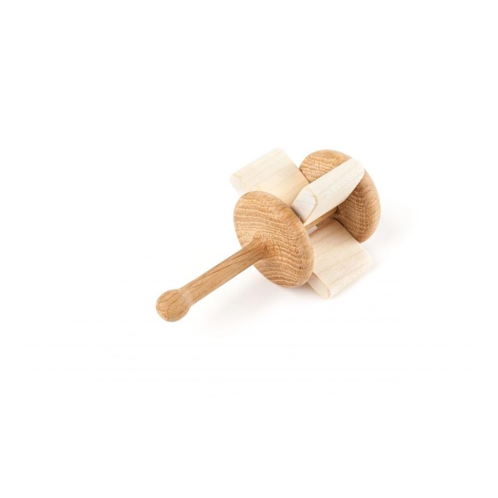 Grzechotka z certyfikowanego drewna CRACKLE