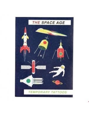 Tatuaże zmywalne dla dzieci Era Kosmiczna Rex London