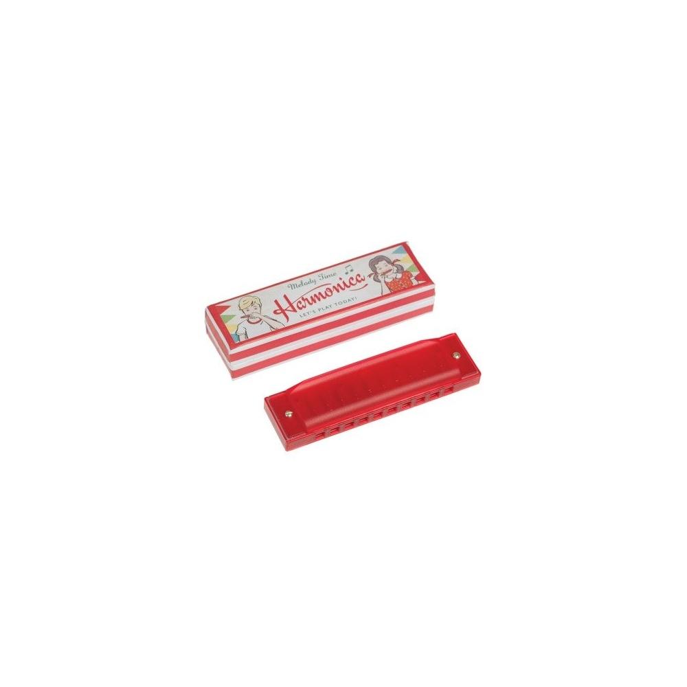 Harmonijka ustna w pudełku czerwona Rex London
