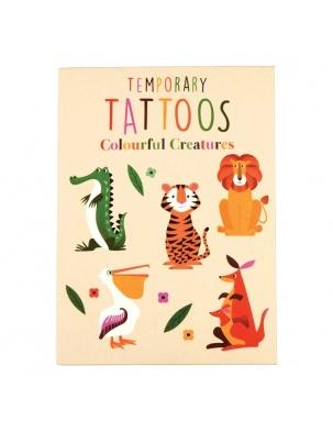 Tatuaże zmywalne dla dzieci Zwierzaki Rex London