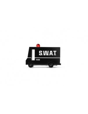 Samochód Drewniany SWAT Van CANDYLAB